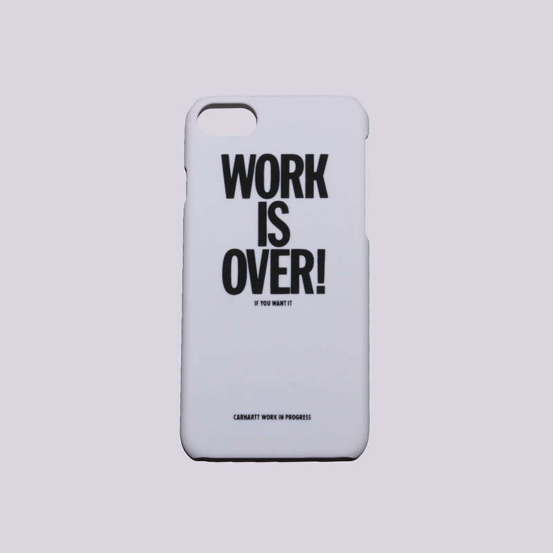 Чехол Carhartt WIP iPhone 7 HardcaseДругое<br>Пластик<br><br>Цвет: Белый<br>Размеры : OS