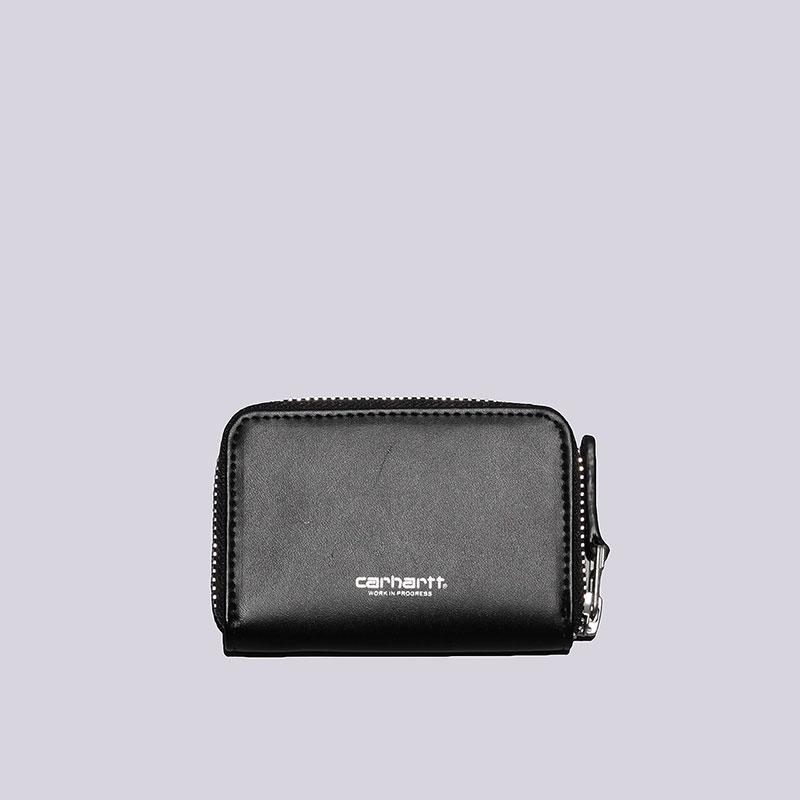 Мини-кошелёк Carhartt WIP Mini WalletДругое<br>Кожа<br><br>Цвет: Чёрный<br>Размеры : OS