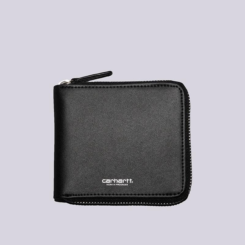 Бумажник Carhartt WIP Zip WalletДругое<br>Кожа<br><br>Цвет: Чёрный<br>Размеры : OS