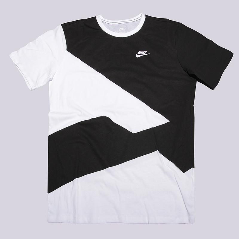 Футболка Nike Sportswear Modern TeeФутболки<br>100% хлопок<br><br>Цвет: Белый, черный<br>Размеры US: 2XL<br>Пол: Мужской