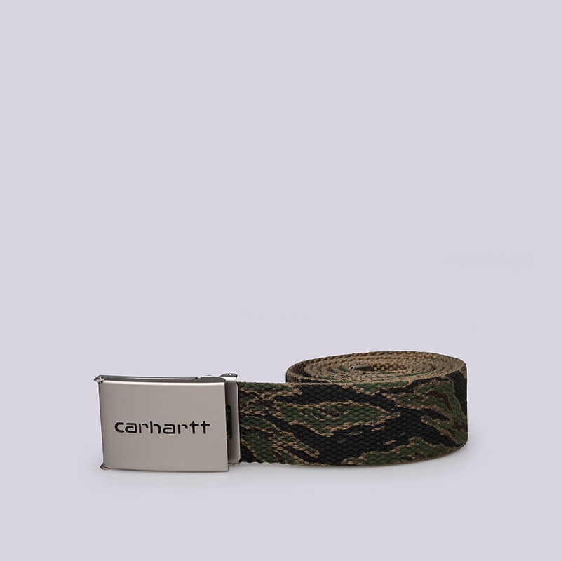 Ремень Carhartt WIP Clip Belt Chrome от Streetball