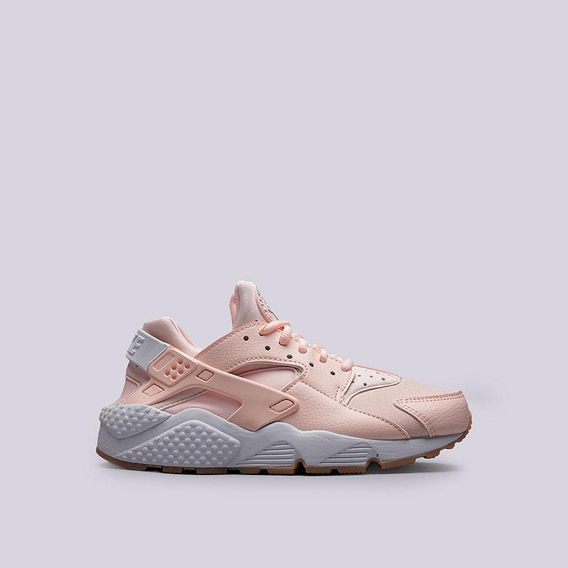 Кроссовки  Nike Sportswear WMNS Air Huarache RunКроссовки lifestyle<br>Текстиль, синтетика, резина, пластик<br><br>Цвет: Розовый<br>Размеры US: 7.5<br>Пол: Женский