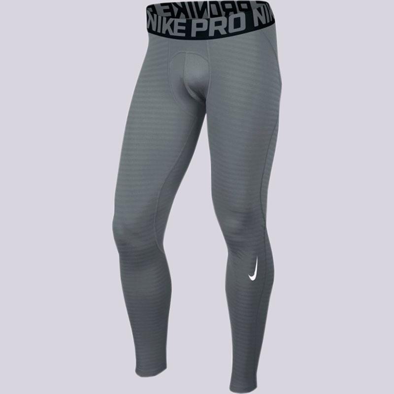 Кальсоны Nike Pro Warm TightsКомпрессионное белье<br>Полиэстер, эластан<br><br>Цвет: Серый<br>Размеры US: L;XL;2XL<br>Пол: Мужской