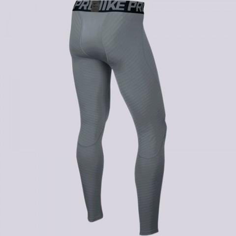 мужские серые  кальсоны nike pro warm tights 725039-065 - цена, описание, фото 2