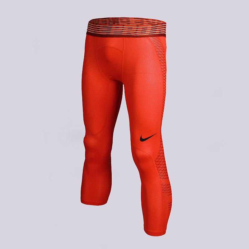 Кальсоны Nike M NP HPRCL TGHT 3QTКомпрессионное белье<br>Полиэстер, эластан<br><br>Цвет: Оранжевый<br>Размеры US: XL;2XL<br>Пол: Мужской