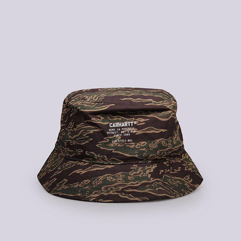 Панама Carhartt WIP Watch Bucket HatКепки<br>Хлопок<br><br>Цвет: Камуфляж<br>Размеры : S/M;M/L
