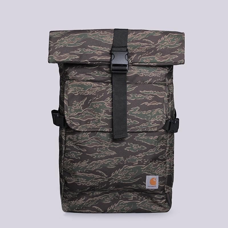 Рюкзак Carhartt WIP Philips BackpackСумки, рюкзаки<br>100%  полиэстер<br><br>Цвет: Камуфляж<br>Размеры : OS