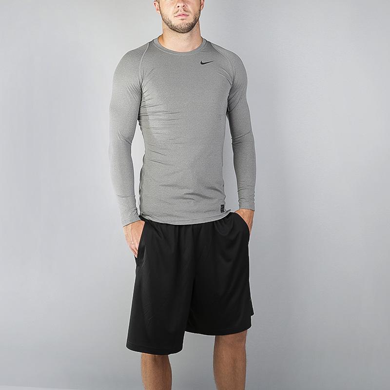 Лонгслив Nike Compression LS TopКомпрессионное белье<br>Полиэстер, эластан<br><br>Цвет: Серый<br>Размеры US: M;L;XL;2XL<br>Пол: Мужской