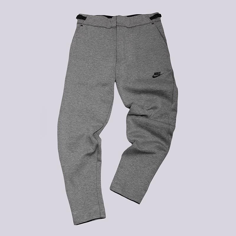 Брюки Nike Sportswear Tech Fleece PantБрюки и джинсы<br>66% хлопок, 34% полиэстер<br><br>Цвет: Серый<br>Размеры US: S;L;2XL<br>Пол: Мужской