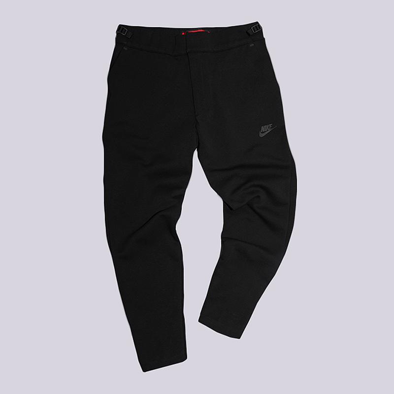Брюки Nike Sportswear Tech Fleece PantБрюки и джинсы<br>66% хлопок, 34% полиэстер<br><br>Цвет: Черный<br>Размеры US: XL<br>Пол: Мужской