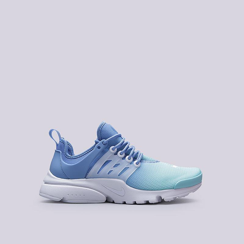 Кроссовки  Nike WMNS Air Presto Ultra BRКроссовки lifestyle<br>Текстиль, пластик, резина<br><br>Цвет: Голубой<br>Размеры US: 7.5<br>Пол: Женский