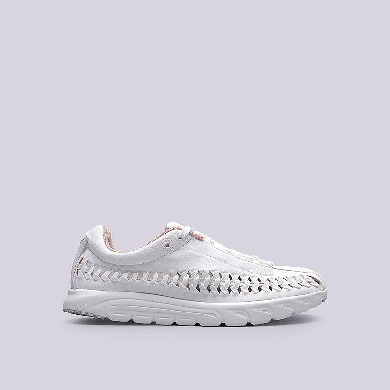 Кроссовки  Nike Sportswear WMNS Mayfly WovenКроссовки lifestyle<br>Текстиль, кожа, пластик, резина<br><br>Цвет: Белый<br>Размеры US: 6;7;8<br>Пол: Женский