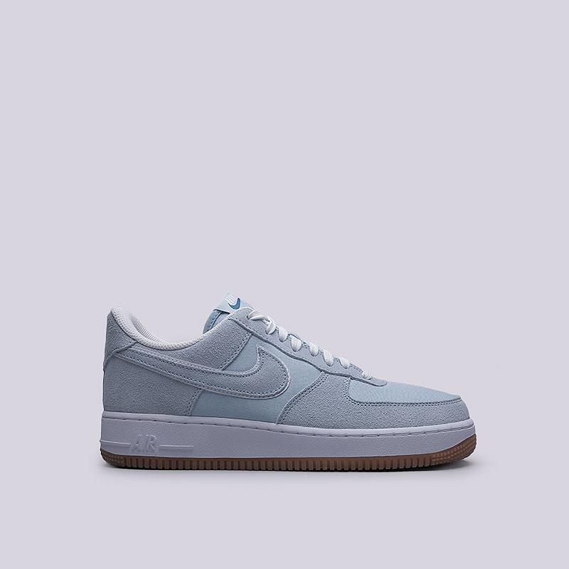 Кроссовки  Nike Sportswear Air Force 1 07Кроссовки lifestyle<br>Кожа, текстиль, резина<br><br>Цвет: Голубой<br>Размеры US: 8;8.5;9;9.5;10;10.5;11;11.5;12;12.5;13<br>Пол: Мужской