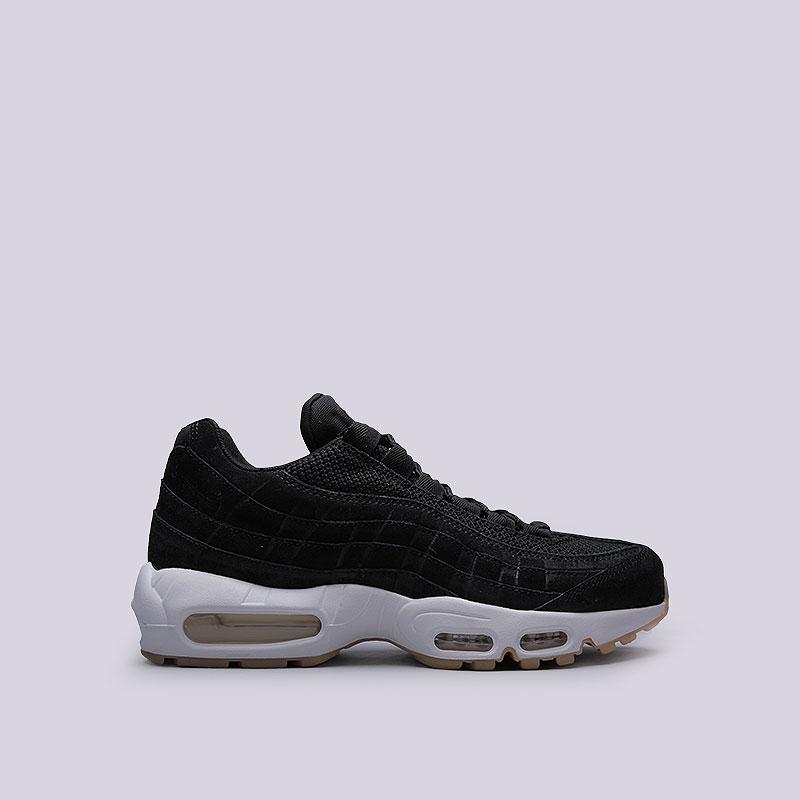 Кроссовки  Nike Sportswear Air Max 95 PRMКроссовки lifestyle<br>Кожа, текстиль, резина, пластик<br><br>Цвет: Чёрный<br>Размеры US: 8;9;9.5;10;10.5;11;11.5<br>Пол: Мужской