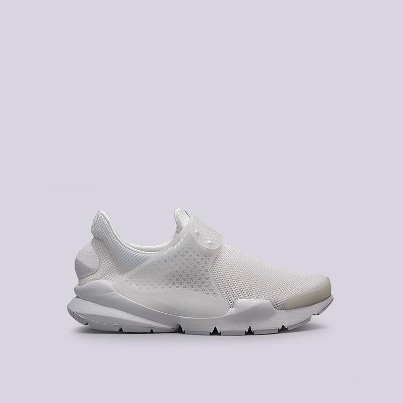 Кроссовки  Nike Sportswear WMNS Sock Dart BRКроссовки lifestyle<br>Текстиль, резина, пластик<br><br>Цвет: Белый<br>Размеры US: 6;7;9<br>Пол: Женский