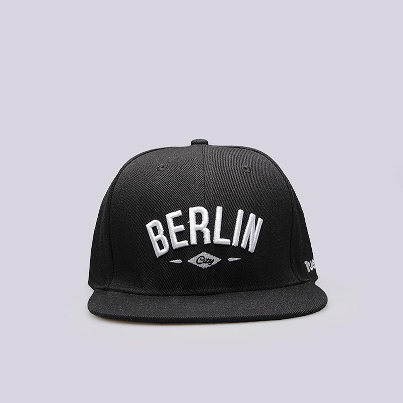 Кепка True spin BerlinКепки<br>100% полиэстер<br><br>Цвет: Черный<br>Размеры : OS