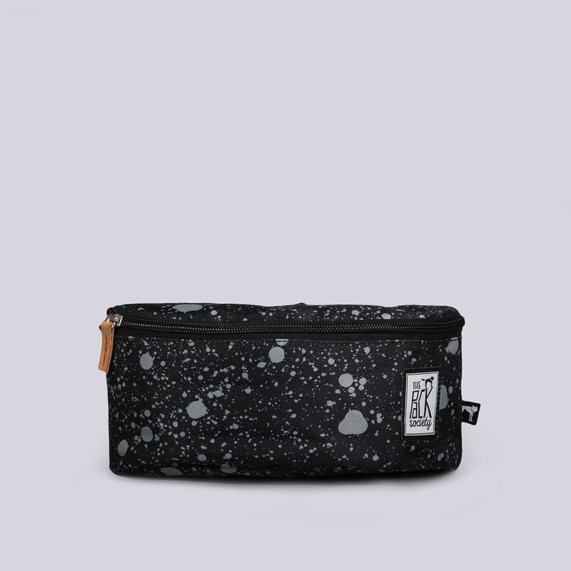 Сумка на пояс The Pack Society Black Spatters BumbagСумки, рюкзаки<br>Полиэстер<br><br>Цвет: Чёрный<br>Размеры : OS