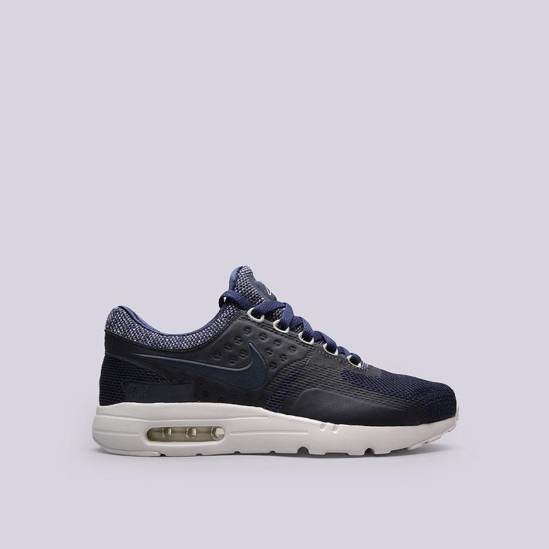 Кроссовки  Nike Sportswear Air Max Zero BRКроссовки lifestyle<br>Текстиль, пластик, резина<br><br>Цвет: Синий<br>Размеры US: 8.5<br>Пол: Мужской