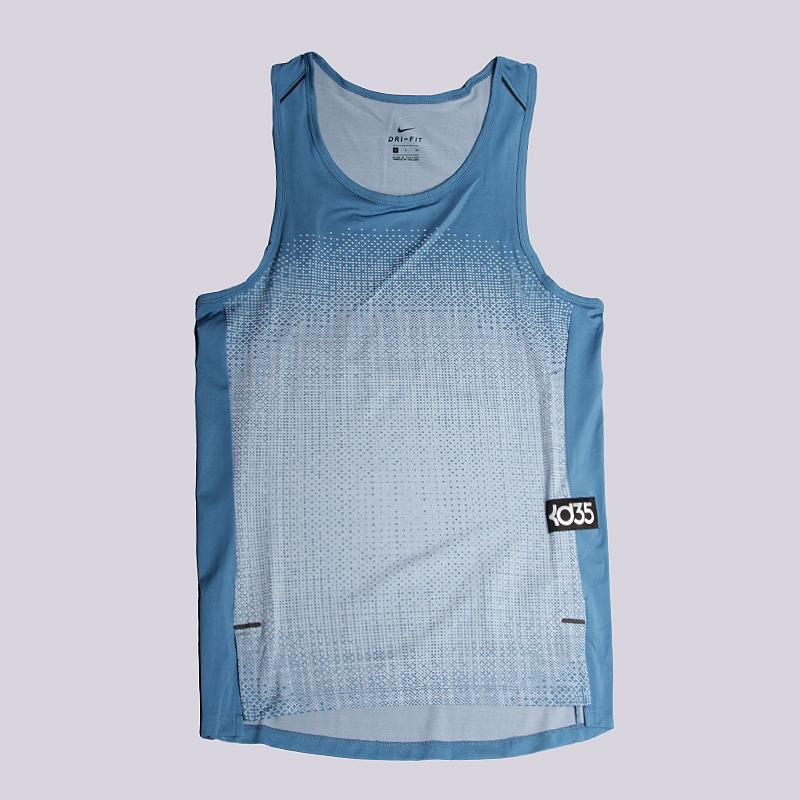 Майка Nike KD Hyper Elite S/L TopБезрукавки<br>95% полиэстер, 5% эластан<br><br>Цвет: Голубой<br>Размеры US: L;XL;2XL<br>Пол: Мужской