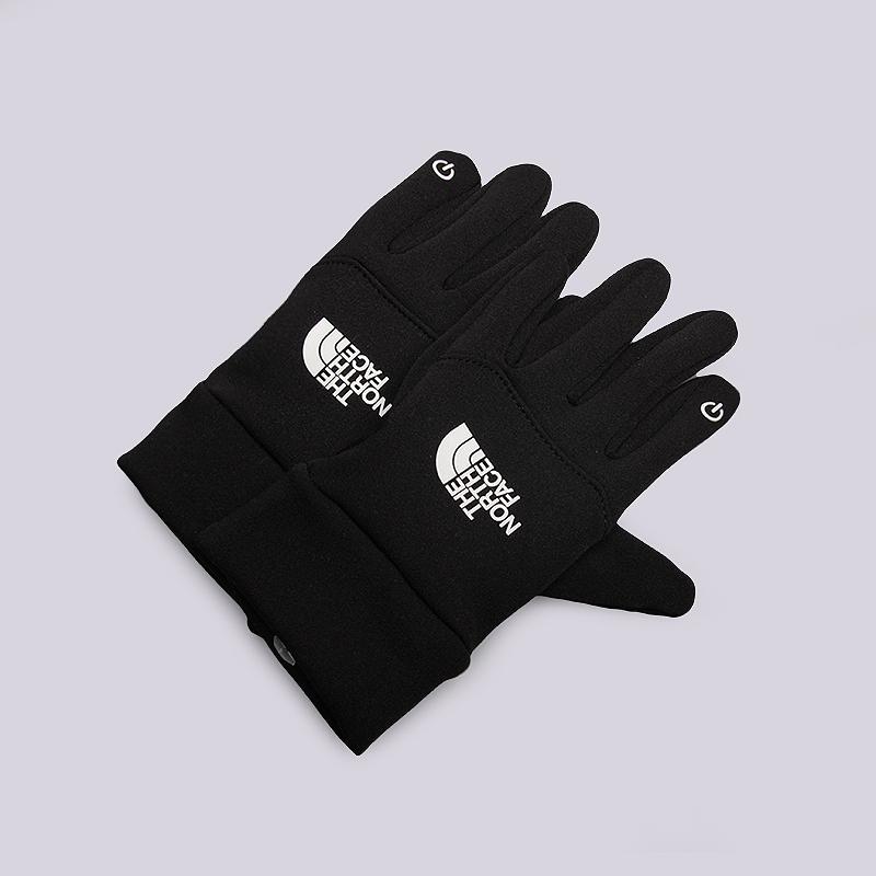 Перчатки The North Face Youth Etip GloveПерчатки<br>Флис<br><br>Цвет: Черный<br>Размеры US: S;M<br>Пол: Женский