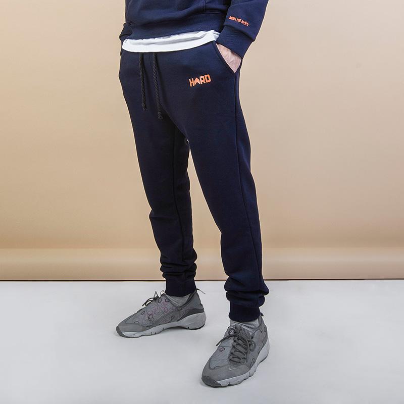 Брюки Hard White Men Can JumpБрюки и джинсы<br>Хлопок<br><br>Цвет: Синий<br>Размеры : S;M;XL<br>Пол: Мужской