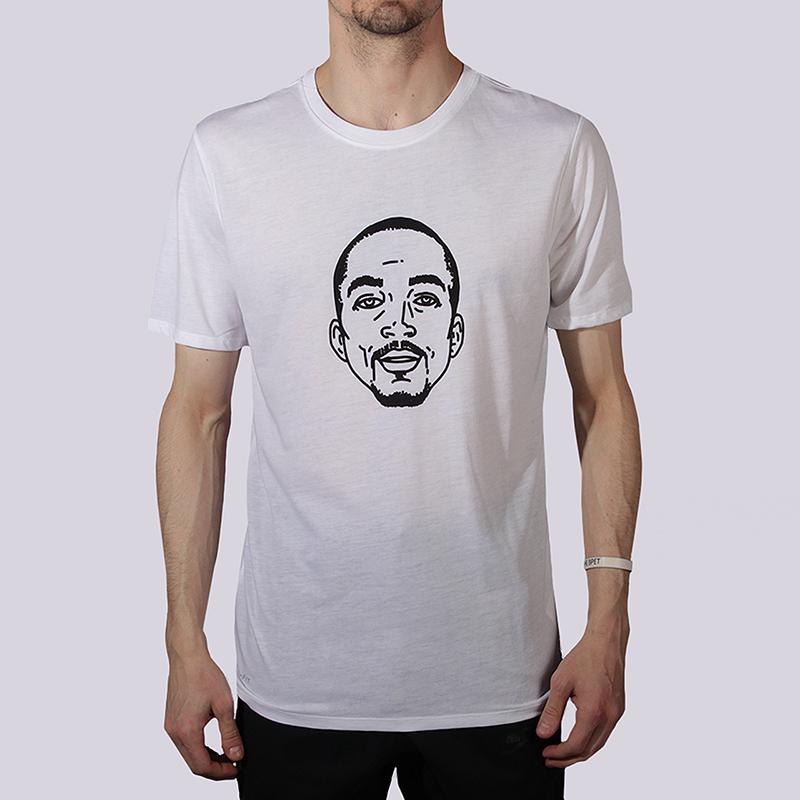 Футболка Nike Sportswear JR FaceФутболки<br>75% полиэстер, 13% хлопок, 12% вискоза<br><br>Цвет: Белый<br>Размеры US: S;M;L;XL;2XL<br>Пол: Мужской