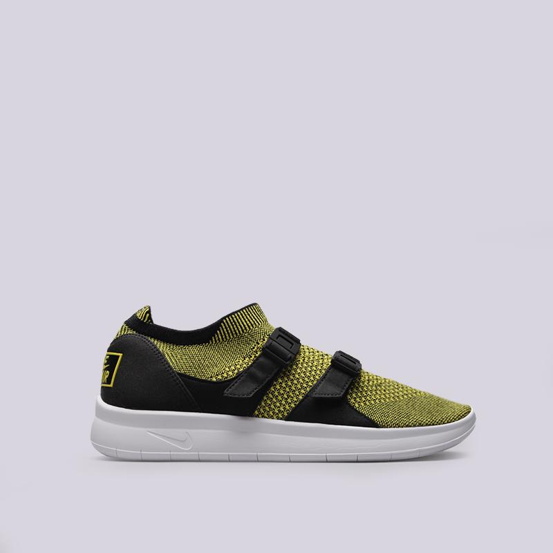 Кроссовки Nike Sportswear Air Sockracer FlyknitКроссовки lifestyle<br>Текстиль, резина, пластик<br><br>Цвет: Черный, желтый<br>Размеры US: 8;8.5;9;10;10.5;11;11.5;12<br>Пол: Мужской