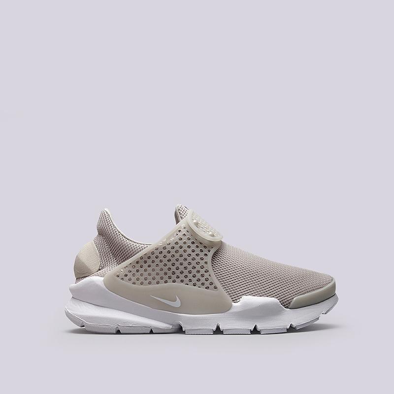 Кроссовки Nike Sportswear WMNS Sock Dart BRКроссовки lifestyle<br>Текстиль, резина, пластик<br><br>Цвет: Бежевый<br>Размеры US: 7;9<br>Пол: Женский
