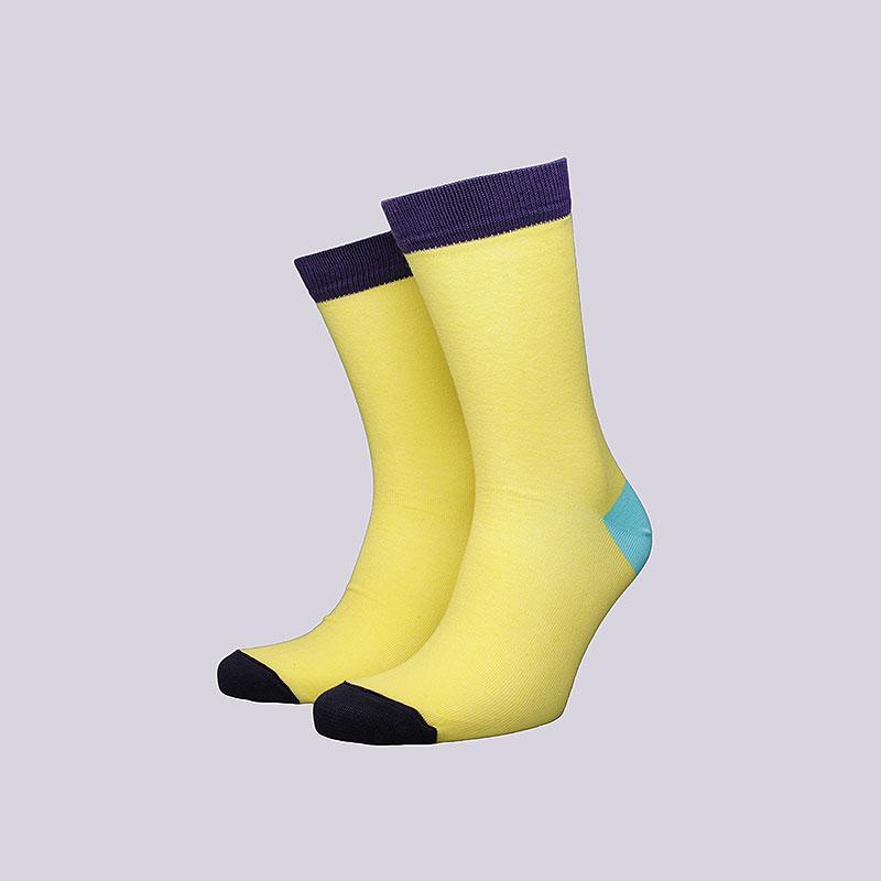 Носки True spin Monto ColorНоски<br>Хлопок, эластан<br><br>Цвет: Жёлтый<br>Размеры : OS<br>Пол: Мужской