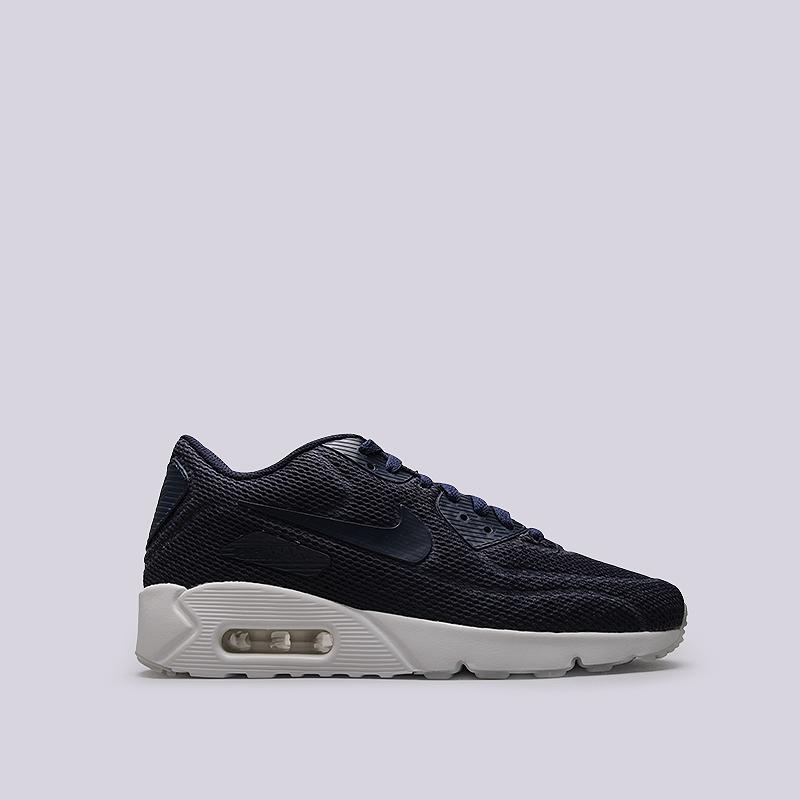 Кроссовки Nike Sportswear Air Max 90 Ultra 2.0 BRКроссовки lifestyle<br>Текстиль, резина, пластик<br><br>Цвет: Синий<br>Размеры US: 8.5<br>Пол: Мужской