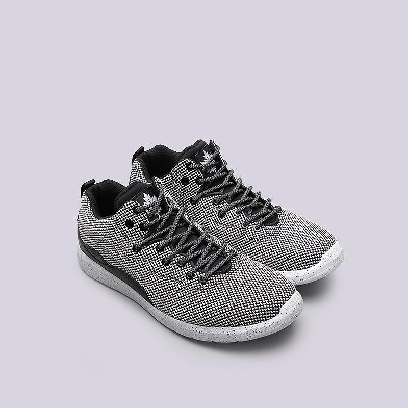 мужские белые, чёрные  кроссовки  k1x rs 93 x-knit 1161-0307/0101 - цена, описание, фото 4