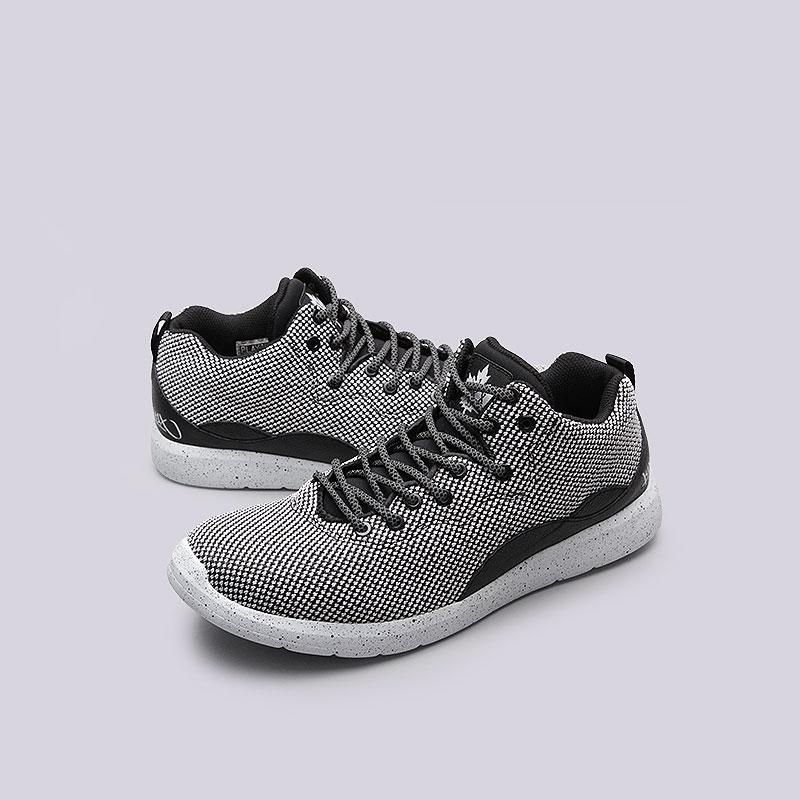 мужские белые, чёрные  кроссовки  k1x rs 93 x-knit 1161-0307/0101 - цена, описание, фото 5