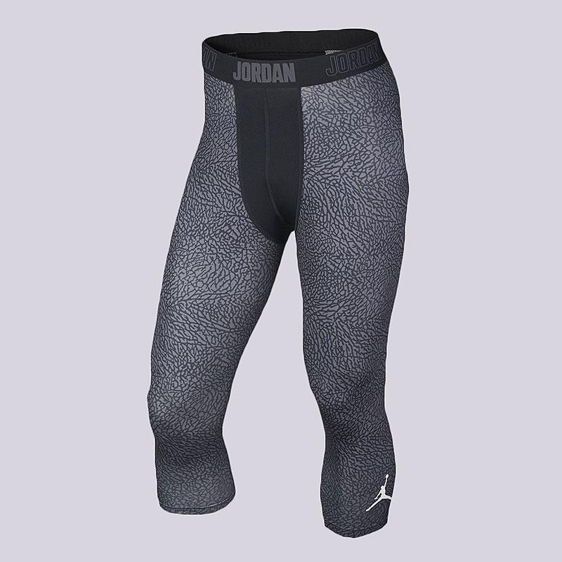 Леггинсы Jordan 23 Pro Dry Ele TightКомпрессионное белье<br>Полиэстер, эластан<br><br>Цвет: Чёрный<br>Размеры US: M;L;XL<br>Пол: Мужской