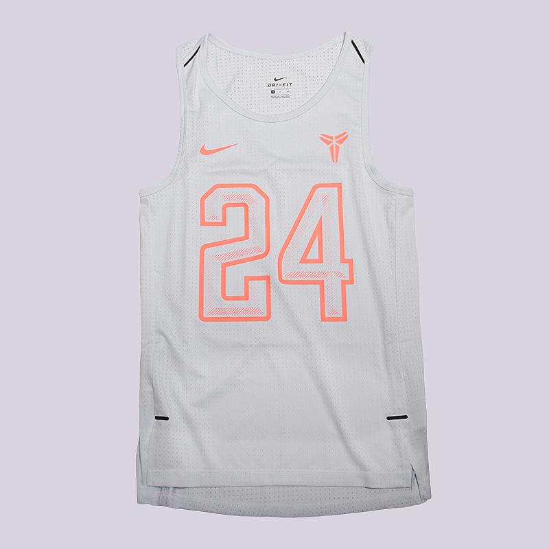 Майка Nike Dry Kobe Hyper EliteБезрукавки<br>100% полиэстер<br><br>Цвет: Белый<br>Размеры US: S<br>Пол: Мужской