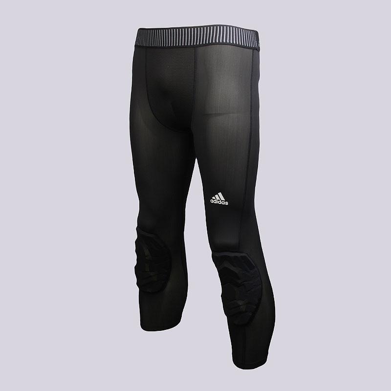 Леггинсы adidas 3/4 Padded TighКомпрессионное белье<br>Нейлон, спандекс<br><br>Цвет: Чёрный<br>Размеры UK: 2XL<br>Пол: Мужской