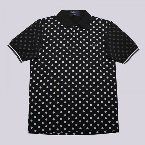 Рубашка поло Fred perry Polka Dot Pique Shirt