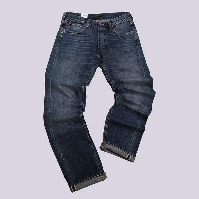 Джинсы Lee 101Брюки и джинсы<br>100% хлопок<br><br>Цвет: Синий<br>Размеры : 30/34;34/34<br>Пол: Мужской