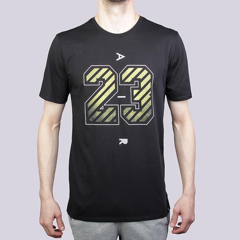 Футболка Jordan 23 Air Dri-Fit TeeФутболки<br>Хлопок, полиэстер<br><br>Цвет: Чёрный<br>Размеры US: S;M;L;XL<br>Пол: Мужской