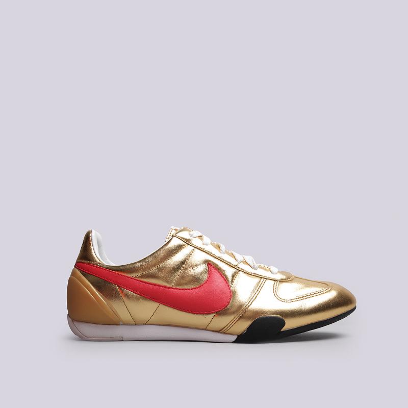 Кроссовки Nike WMNS Sprint Sister LeatherКроссовки lifestyle<br>Кожа, текстиль, резина<br><br>Цвет: Золотой<br>Размеры US: 7.5<br>Пол: Женский