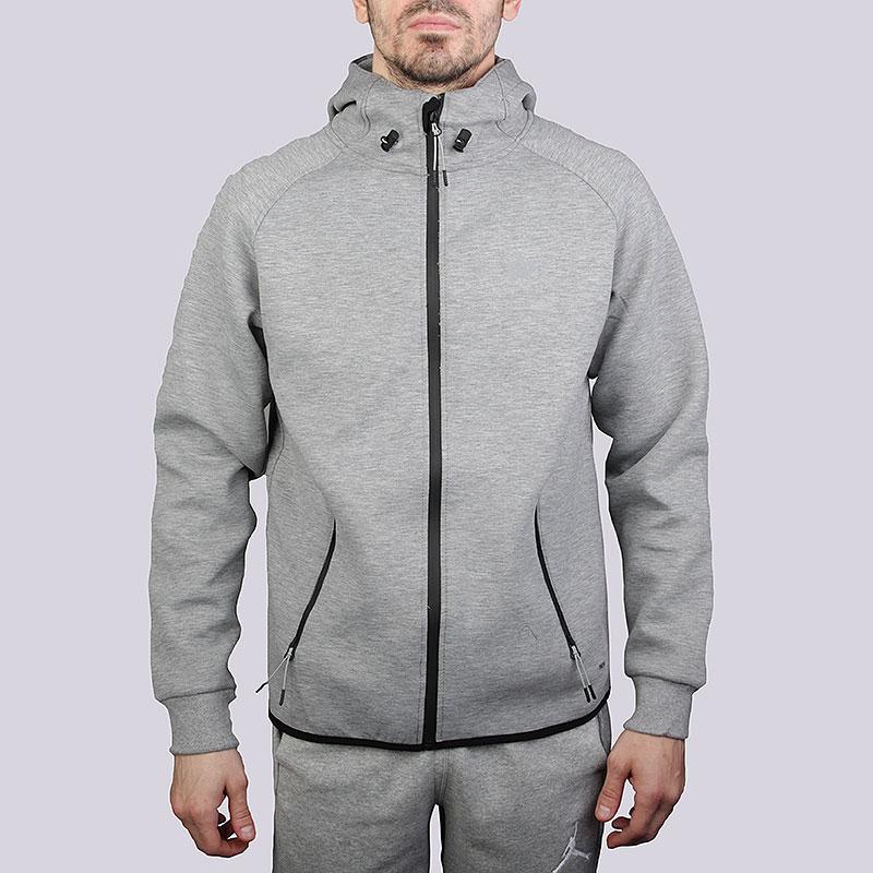 Толстовка K1X Core Spirit Zipper HoodyТолстовки свитера<br>Полиэстер, эластан, хлопок<br><br>Цвет: Серый<br>Размеры US: XL<br>Пол: Мужской