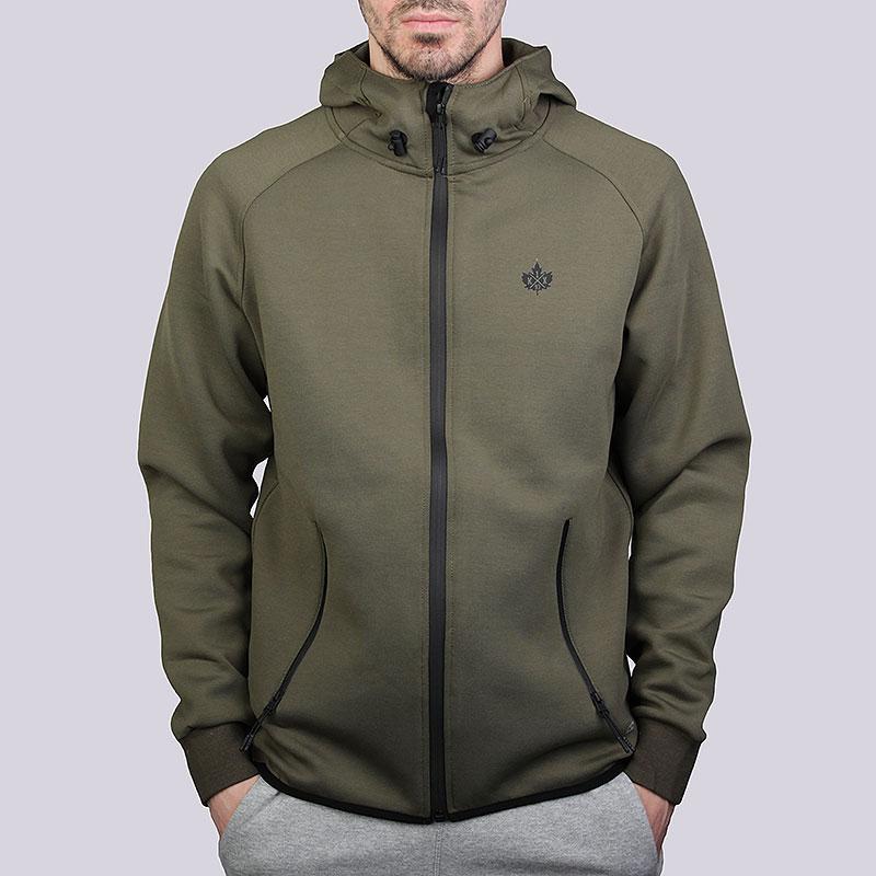Толстовки K1X Core Spirit Zipper HoodyТолстовки свитера<br>Полиэстер, эластан, хлопок<br><br>Цвет: Зелёный<br>Размеры US: XL<br>Пол: Мужской