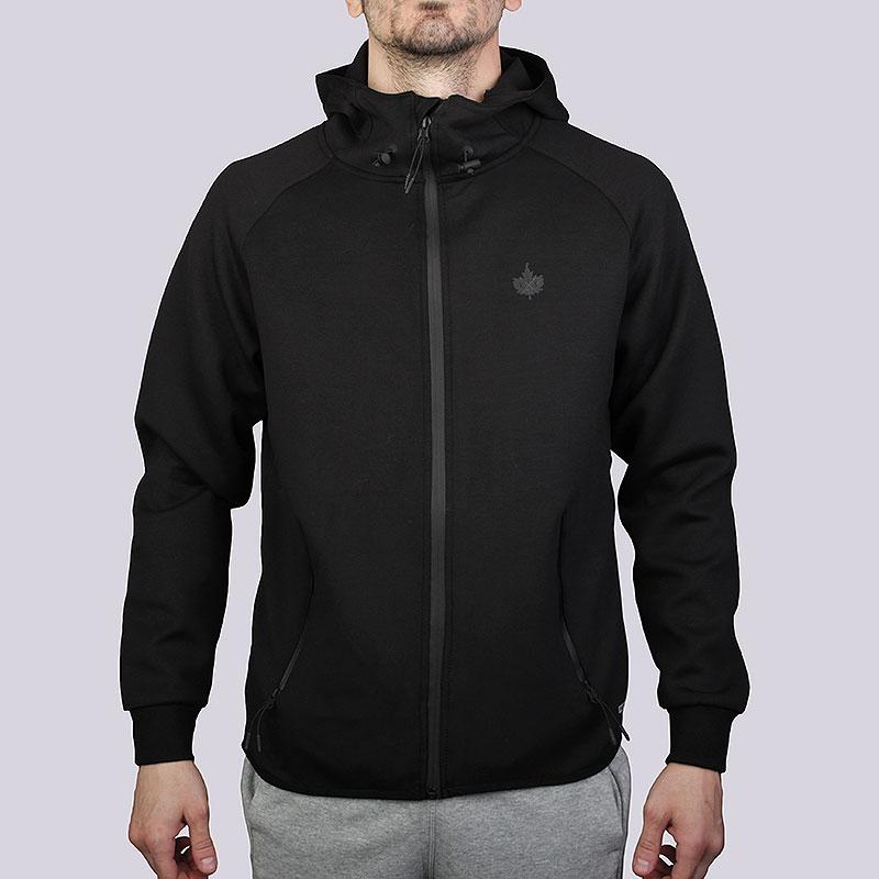 Толстовка K1X Core Spirit Zipper HoodyТолстовки свитера<br>Полиэстер, эластан, хлопок<br><br>Цвет: Чёрный<br>Размеры US: S;M<br>Пол: Мужской