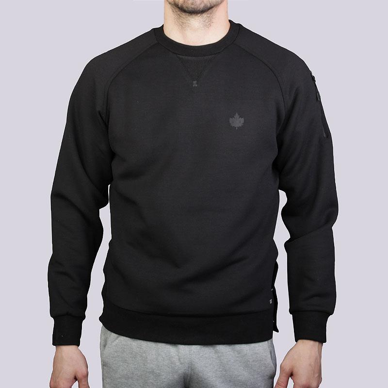 Толстовка K1X Core Fnctn CrewneckТолстовки свитера<br>Полиэстер, эластан, хлопок<br><br>Цвет: Чёрный<br>Размеры US: 2XL<br>Пол: Мужской