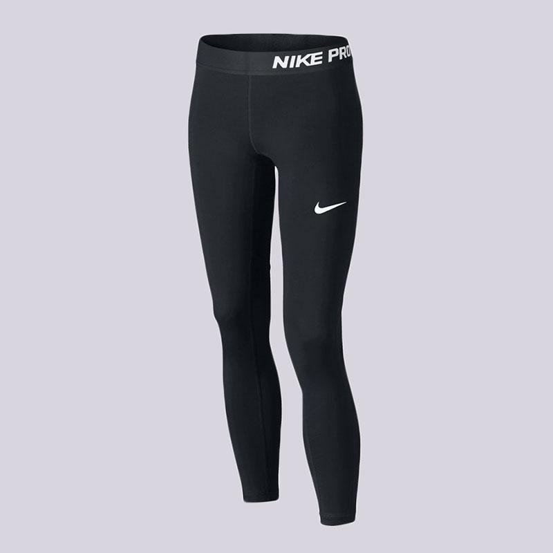 Леггинсы Nike G NP TGHTКомпрессионное белье<br>Полиэстер, эластан<br><br>Цвет: Чёрный<br>Размеры US: S;M<br>Пол: Детский