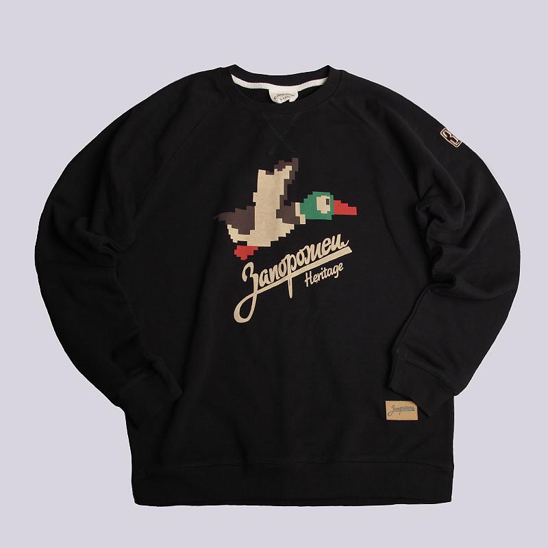 Толстовка Запорожец heritage 86 БитТолстовки свитера<br>100% хлопок<br><br>Цвет: Черный<br>Размеры : L<br>Пол: Мужской
