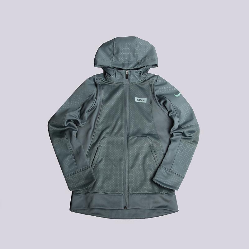 Толстовка Nike Lebron Therma HoodieТолстовки свитера<br>100% полиэстер<br><br>Цвет: Голубой<br>Размеры US: S;M;L<br>Пол: Детский