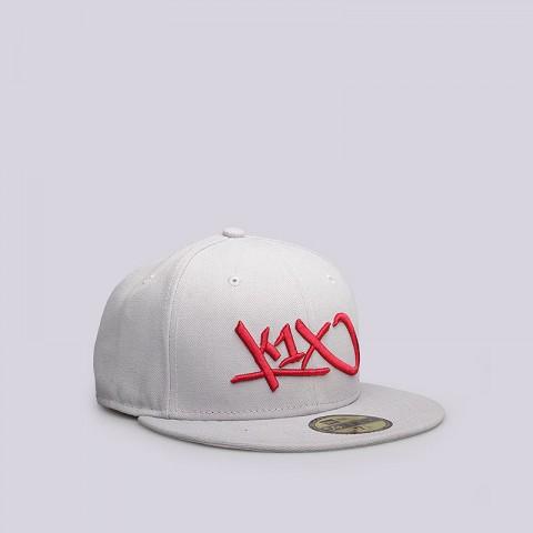 мужскую серую  кепка k1x at large tag 59/50 1800-0110/8605 - цена, описание, фото 2