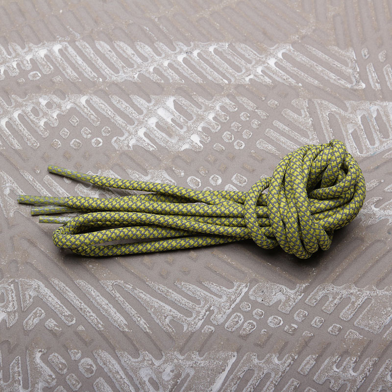 Шнурки Rope Lace Supply 3M Reflective LacesШнурки<br><br><br>Цвет: Жёлтый<br>Размеры : OS