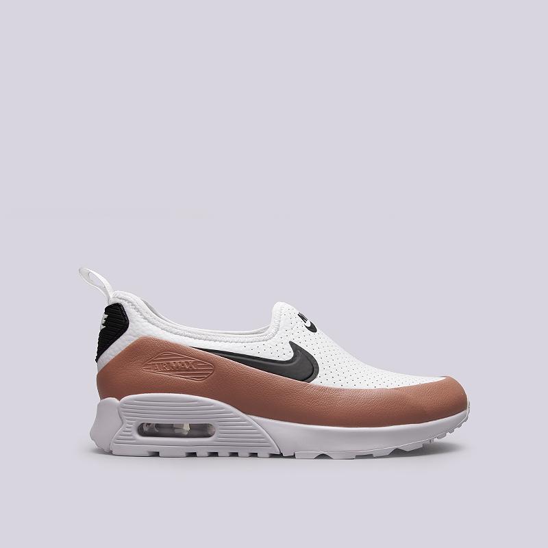Кроссовки Nike Sportswear WMNS Air Max 90 Ultra 2.0 EaseКроссовки lifestyle<br>Кожа, текстиль, резина<br><br>Цвет: Белый, коричневый<br>Размеры US: 6;6.5;7;7.5;8;8.5;9<br>Пол: Женский