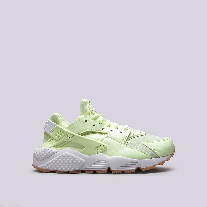 Кроссовки Nike Sportswear WMNS Air Huarache RunКроссовки lifestyle<br>Текстиль, синтетика, резина<br><br>Цвет: Желтый<br>Размеры US: 6.5;7;8.5<br>Пол: Женский